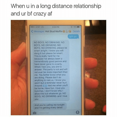 long distance ruined our relationship commandments