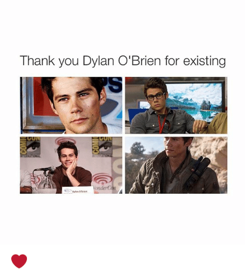 Dylan O'Brien: Ihank you Dylan O'Brien for existing ❤️