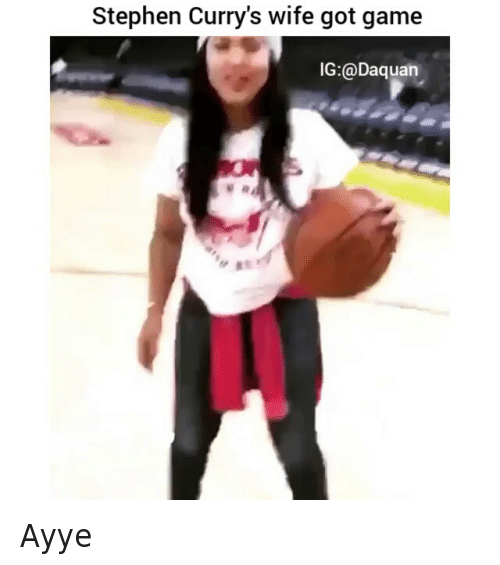Ayesha Curry, Basketball, and Daquan: @daquan  Stephen Curry's wife got game Ayye