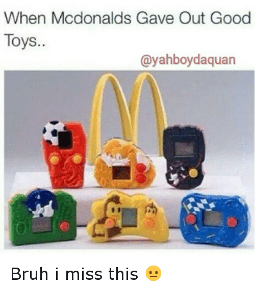 McDonalds: When Mcdonalds Gave Out Good  Toys.  (ayahboyda quan Bruh i miss this 😐