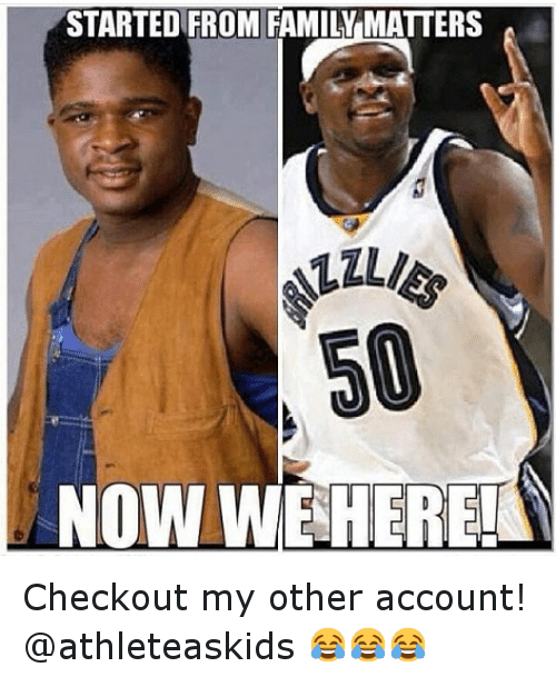 Basketball, Family, and Family Matters: STARTED FROM FAMILY MATTERS  50  NOW WE HERE! Checkout my other account! @athleteaskids 😂😂😂