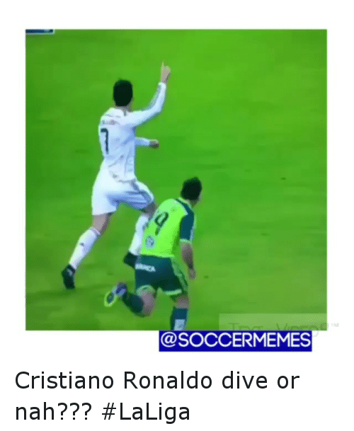 25 best memes about ronaldo diving ronaldo diving memes for Cristiano ronaldo dive