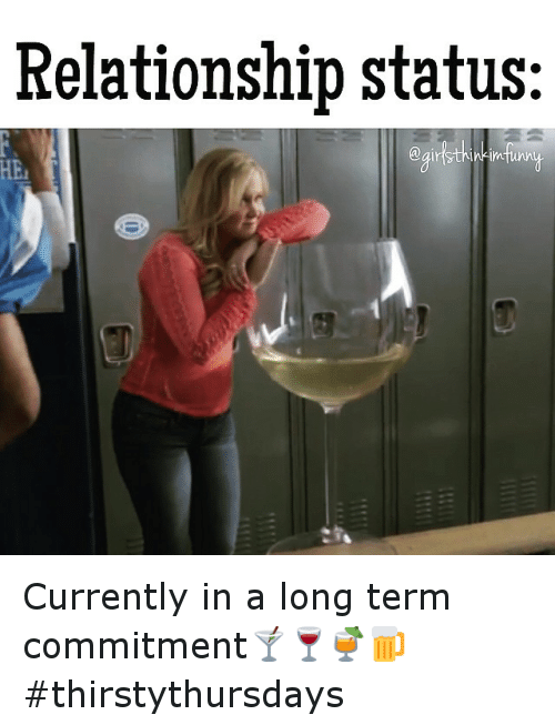 less committed relationship meme