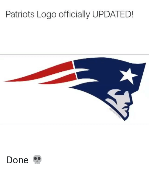 Logos: Patriots Logo officially UPDATED! Done 💀