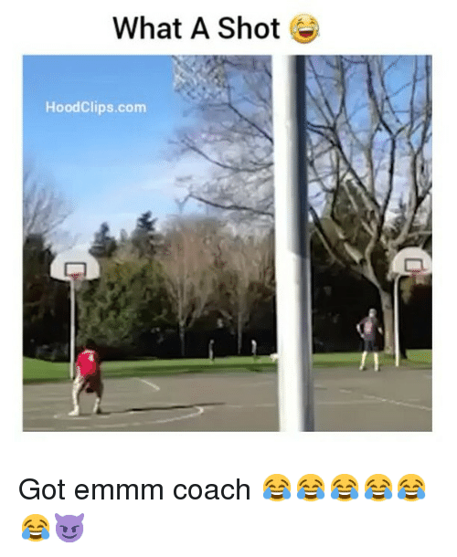Funny, Hood, and Got: What A Shot  Hood Clips.com Got emmm coach 😂😂😂😂😂😂😈