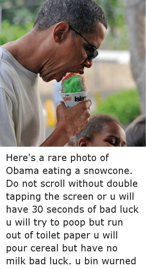 is it bad luck to not eat your wedding cake on first anniversary owlslar here s a photo of obama a snowcone do 16494