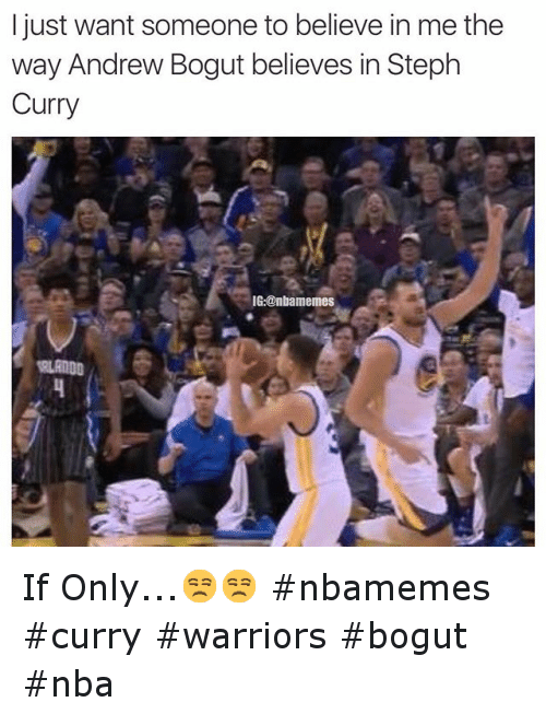 Andrew Bogut, Basketball, and Golden State Warriors: I just want someone to believe in me the way Andrew Bogut believes in Steph Curry If Only...😒😒 nbamemes curry warriors bogut nba