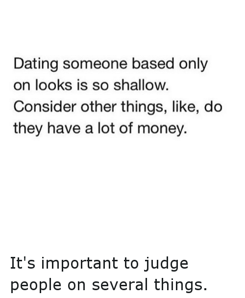Things to consider when dating