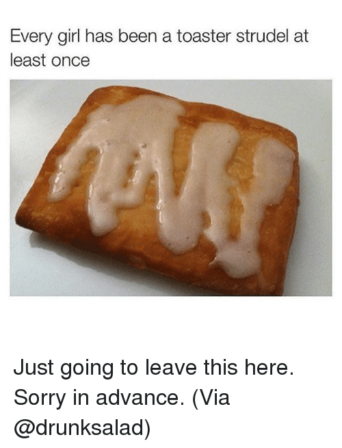 how to make toaster strudel in toaster