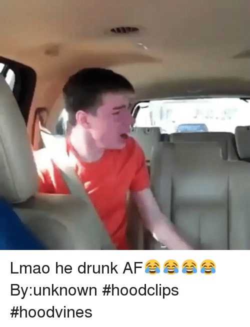 Funny: Lmao he drunk AF😂😂😂😂-By:unknown-hoodclips hoodvines