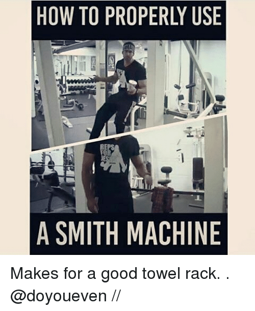 smith machine meme