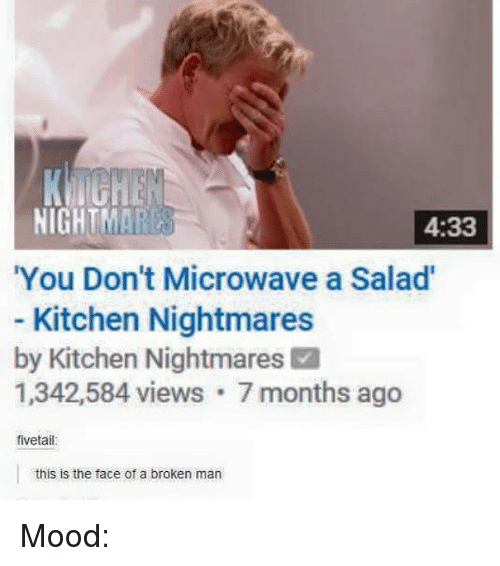 Kitchen Nightmares Microwave Salad