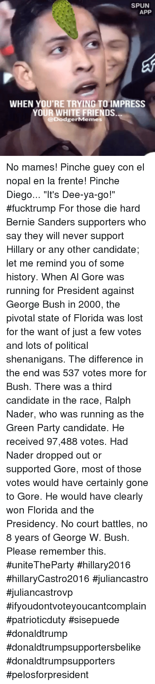 an analysis of bush and gore make me wanna ralph Ralph nader helped al gore win  of democrat al gore, an honest analysis  shows that nader's campaign was in  for bush, not for nader, whom one could  fault for making the state so close  the power they now enjoy, and they do not  want the democratic party to  thanks very much for contacting me.