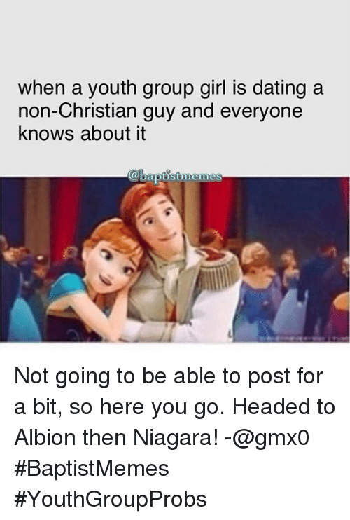 Christian dating a non christian girl