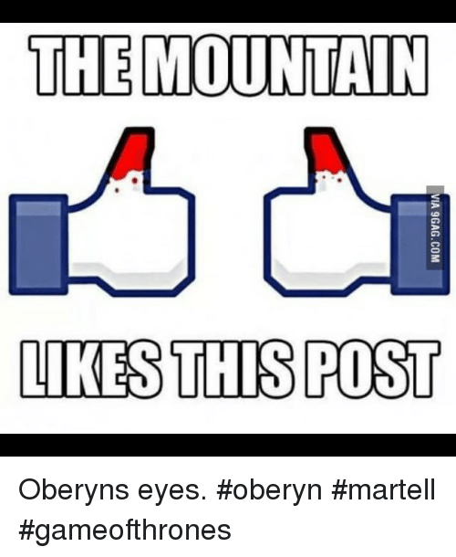 Oberyn Martell Eyes Funny Game of T...