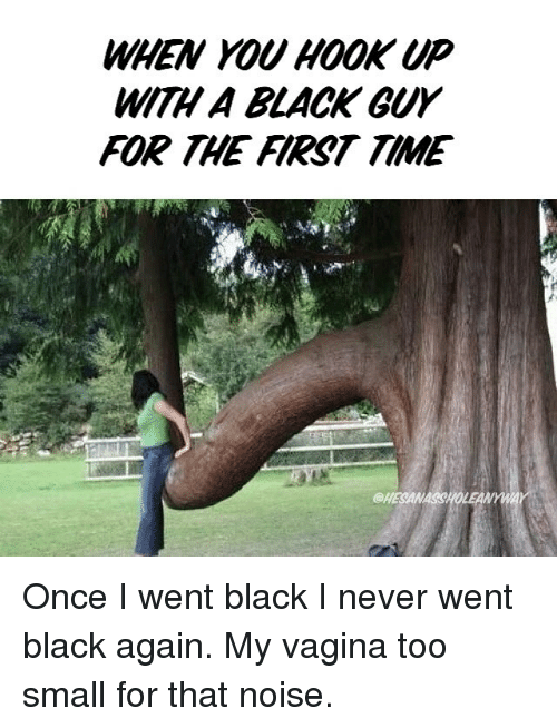 First time with black guy