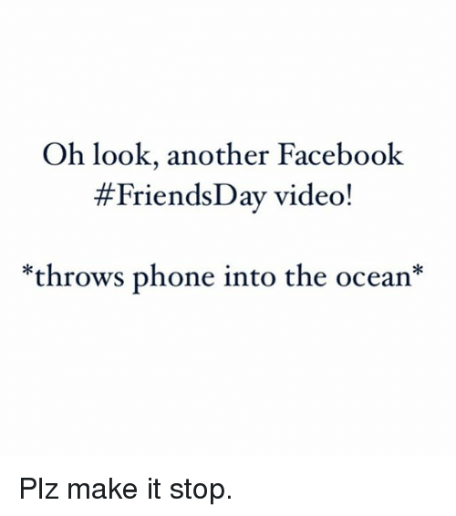 Facebook Friends And Funny Oh Look Another Facebook Friends Day Video