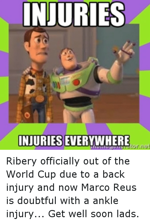 Instagram Ribery officially out of the World 2ce8d1 injuries injuries everywhere tor net ribery officially out of the