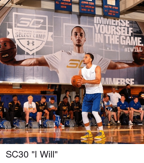 STEPHEN CURRY ALL AMERICAN 1998 INTHE GAME SC30 I Will ...