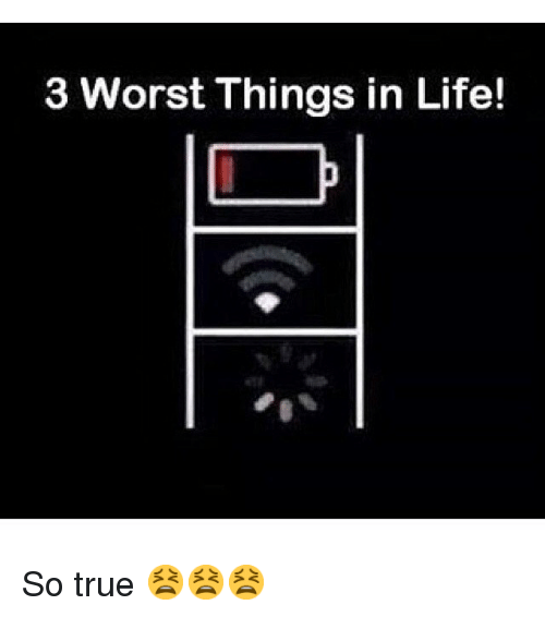 worst things