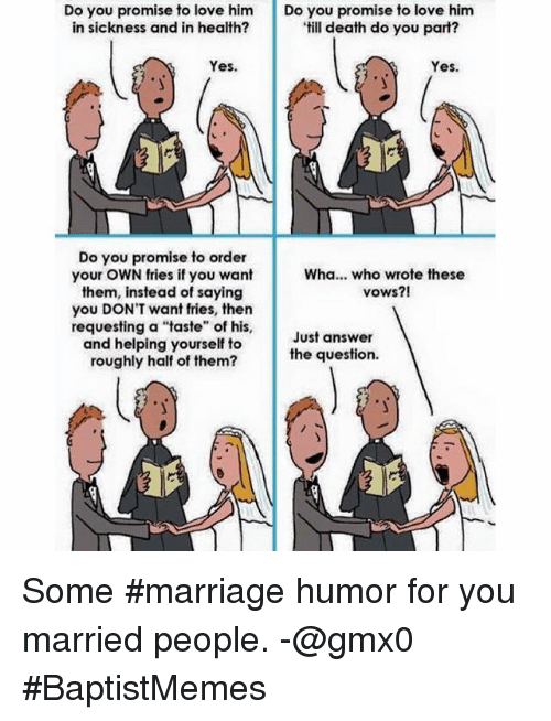 Love Marriage Humor Gallery