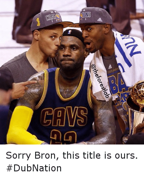 Basketball, Gg, and Golden State Warriors: @theforestlab  GG  SAES  N Sorry Bron, this title is ours. DubNation
