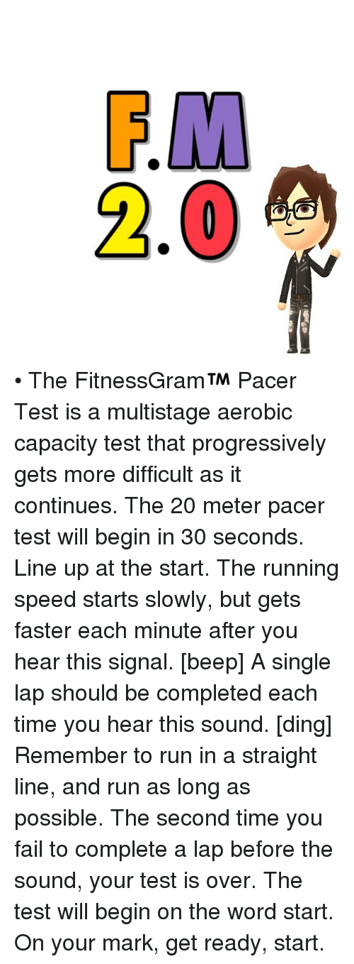 Pacer Test 20 Minute Related Keywords & Suggestions - Pacer