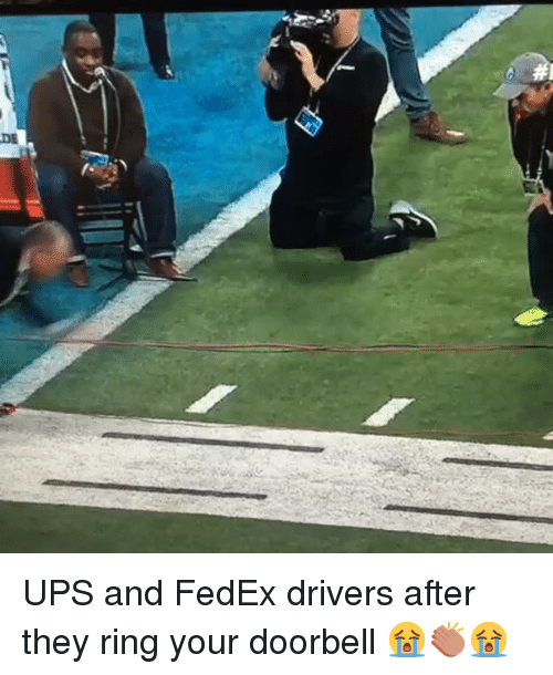 Funny Ups Meme : De ups and fedex drivers after they ring your doorbell