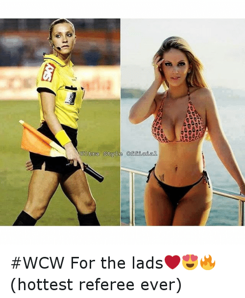 WCW: tra Style Of WCW For the lads❤️😍🔥 (hottest referee ever)