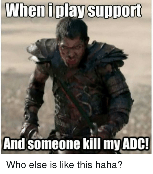 lol how to play adc with a bad support