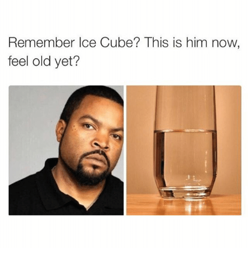 Girl Memes: Remember Ice Cube? This is him now  feel old yet?