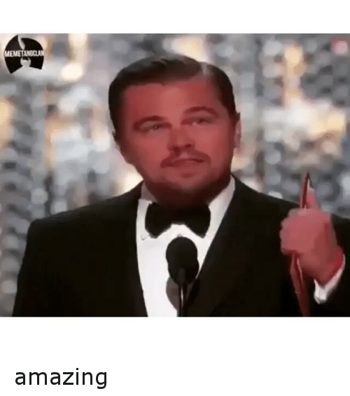 Academy Awards, Future, and Leonardo DiCaprio: amazing