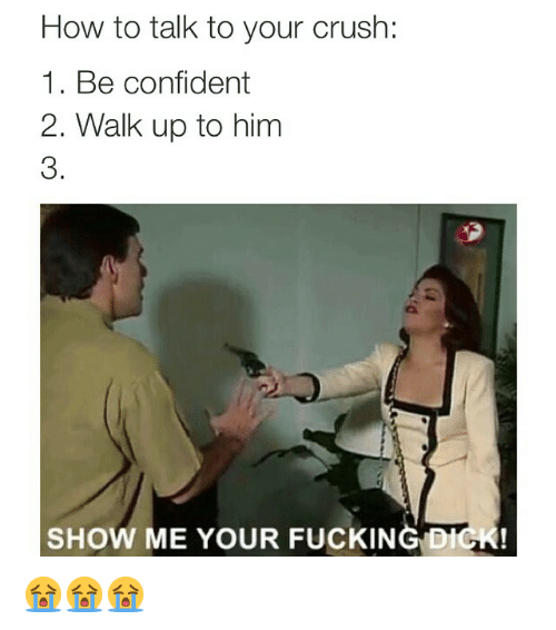 How to be confident when talking to guys
