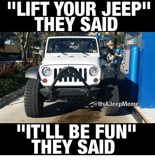 Funny Jeep Memes Of 2017 On Sizzle Mechanical