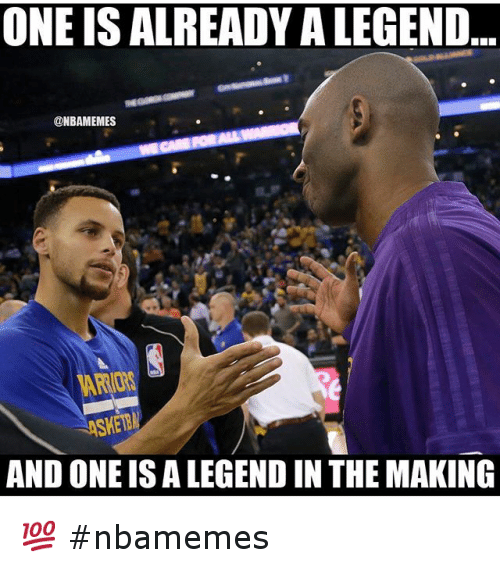 Basketball, Nba, and Sports: ONE IS ALREADY ALEGEND  @NBAMEMES  AND ONE IS A LEGENDIN THE MAKING 💯 nbamemes