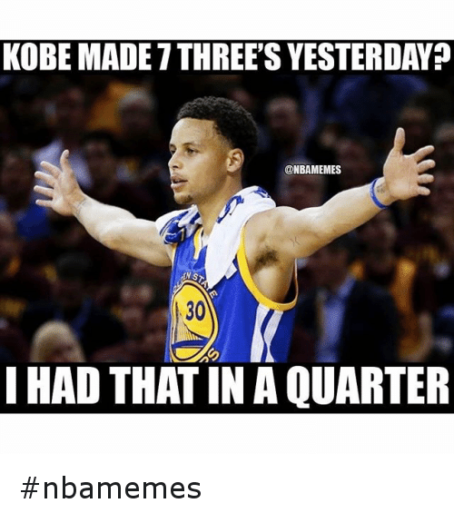 Basketball, Nba, and Sports: KOBE MADE 7 THREE'S YESTERDAY?  @NBAMEMES  I HAD THAT IN A QUARTER nbamemes