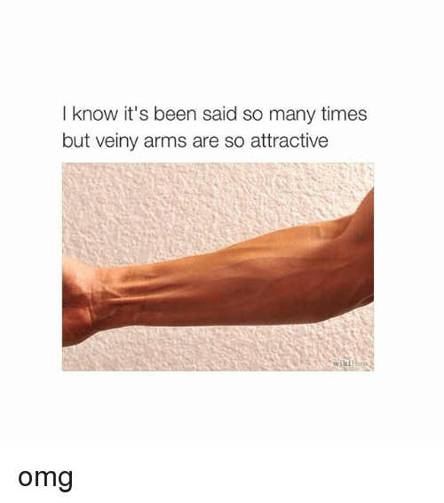 Wikihow: I know it's been said so many times  but veiny arms are so attractive  wikiHowS omg