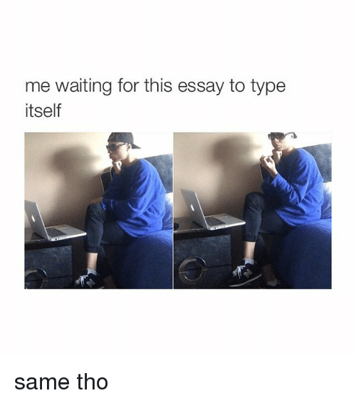 Type essay for me