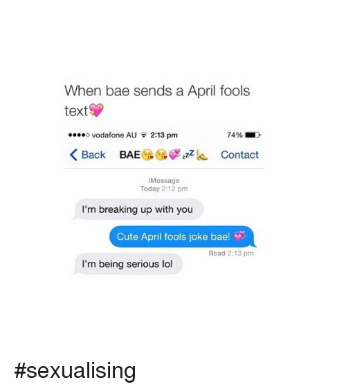 What is bae in texting