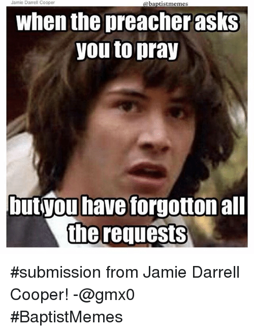 Submission From for WHEN THE PREACHER PREACHES ON YOUR SIN ...