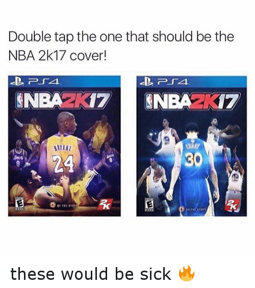 NBA: Double tap the one that should be the  NBA 2k17 cover!  ECO  24  13 these would be sick 🔥