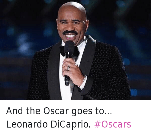 Twitter And the Oscar goes to Leonardo 31a205 🔥 25 best memes about academy awards, steve harvey, and oscars,Steve Harvey Meme Oscars