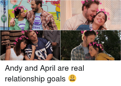 andy and april relationship goals images
