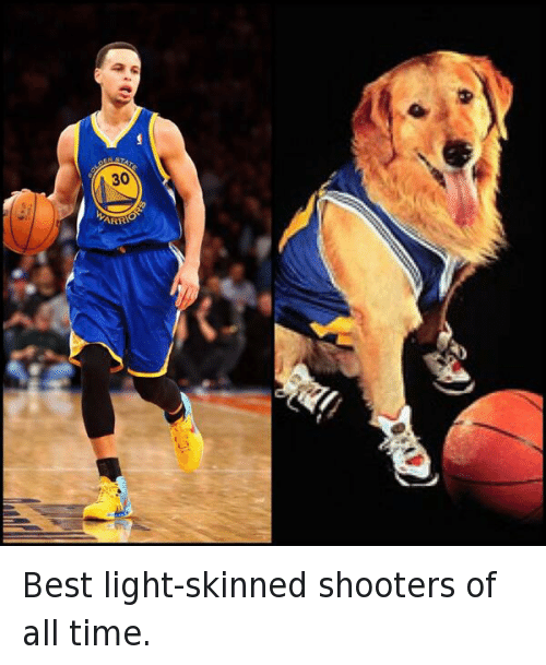 Air bud best light skinned shooters of all time