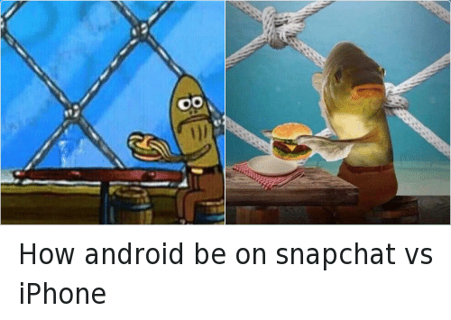 Apps android vs apple memes