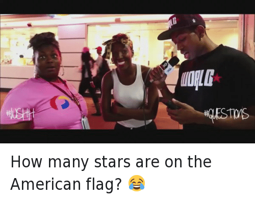 Funny, Hood Shit, and American: MONG How many stars are on the American flag? 😂