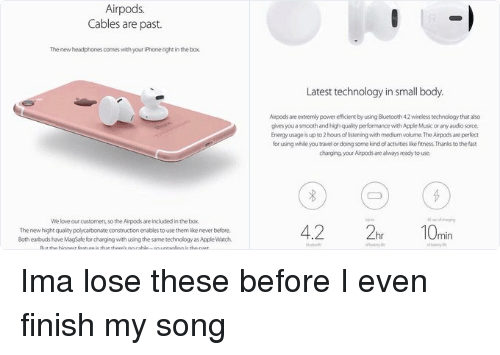 Image result for Apple wireless earbuds meme's.