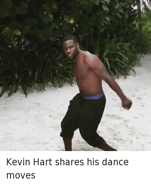 Dancing, Funny, and Kevin Hart: Kevin Hart shares his dance moves