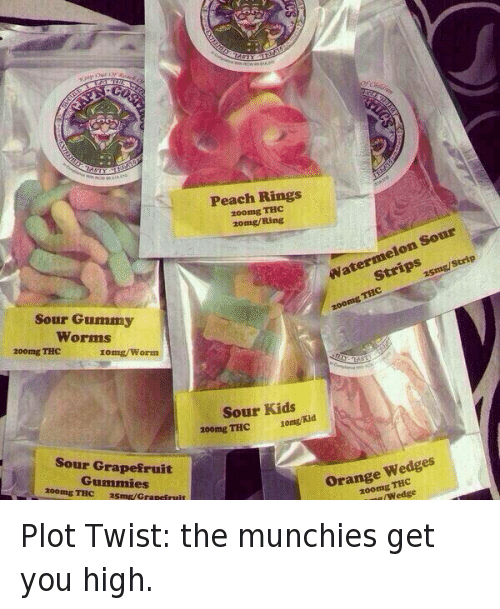 Peach Ring Weed