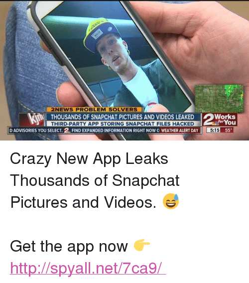 Crazy funny and news ui news problem solvers thousands of snapchat